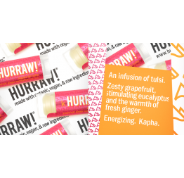 KAPHA lip balm (grapefruit, ginger, eucalyptus): Hurraw