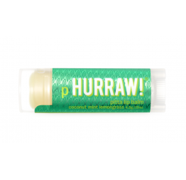 PITTA lip balm (coconut, mint, lemongrass): Hurraw