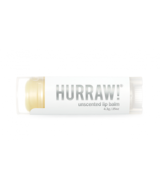 UNSCENTED lip balm: Hurraw