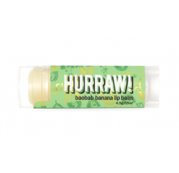BAOBAB BANANA lip balm: Hurraw