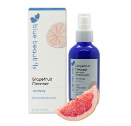 GRAPEFRUIT cleanser: Blue Beautifly