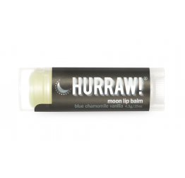 MOON lip balm (blue chamomile, vanilla): Hurraw