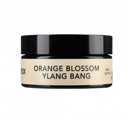 """ORANGE BLOSSOM - YLANG BANG"" baume corps: LILFOX Miami"