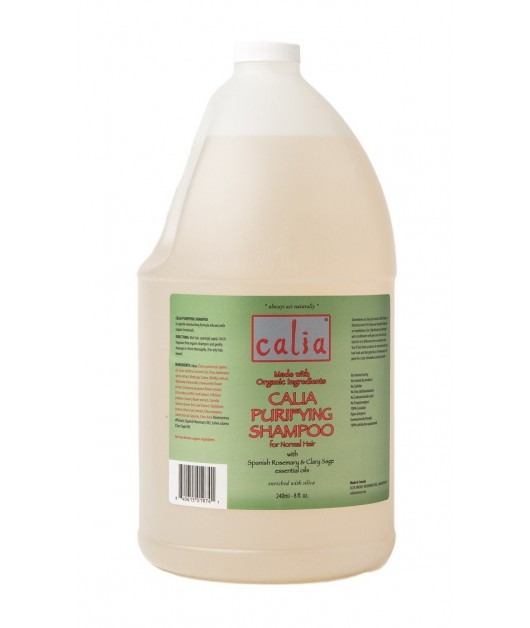 """PURIFYING"" organic purifying shampoo for normal / oily hair (jug - 3,75 L): Calia"