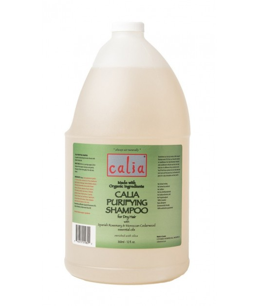 """PURIFYING"" organic purifying shampoo for dry hair (jug - 3,75 L): Calia"