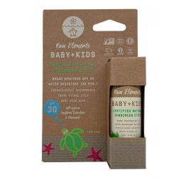 """BABY & KIDS"" sunscreen stick SPF30: Raw Elements"
