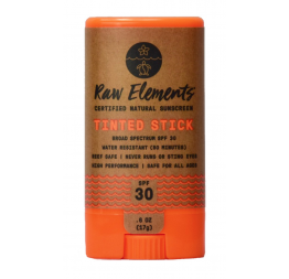 TINTED FACE STICK 30+: Raw Elements