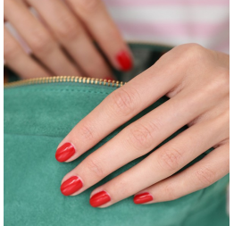 """POPPY RED"" vernis rouge vermillon: Manucurist"