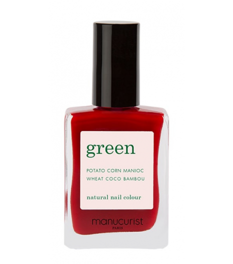"""RED CHERRY"" nail polish: Manucurist"