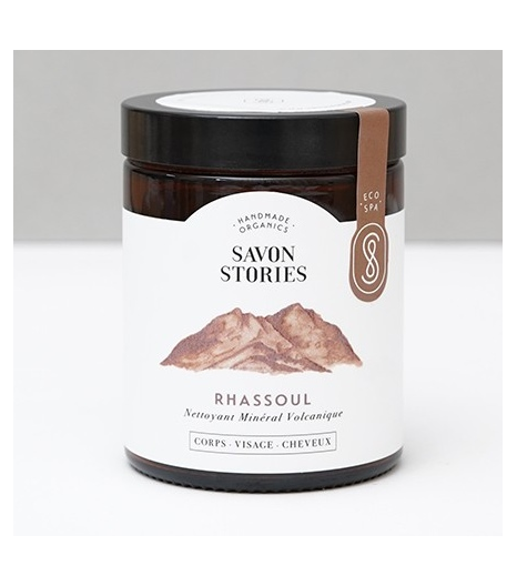 """RHASSOUL CLAY"" detox mask for your skin and hair: Savon Stories"
