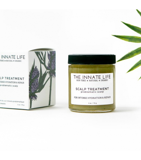 PROBLEMATIC/DRY scalp treatment: The Innate Life