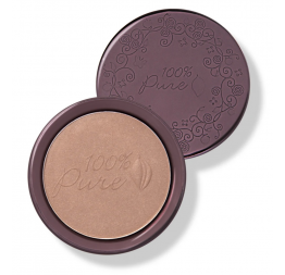 """COCOA PIGMENTED BRONZER"" Cocoa Kissed: 100% Pure"