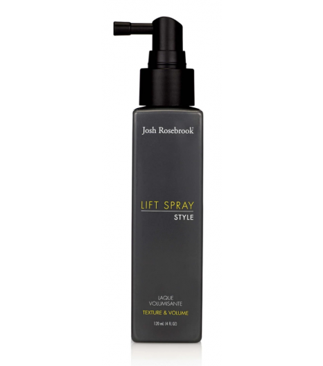 """LIFT SPRAY"" for hair texture and volume: Josh Rosebrook"