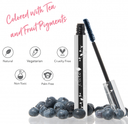 """BLUEBERRY"" fruit pigmented mascara: 100% Pure"