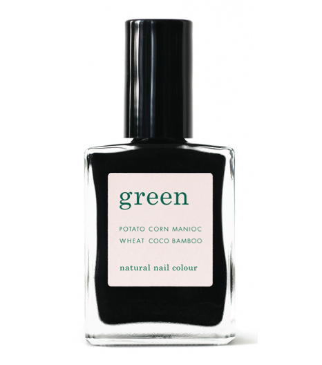 """LICORICE"" nail polish: Manucurist"