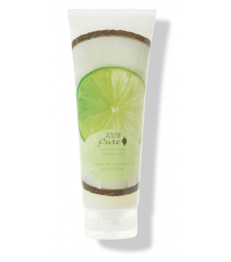"""LIME COCONUT"" shower gel: 100% PURE"