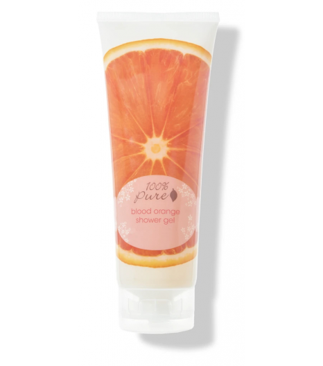 """BLOOD ORANGE"" shower gel: 100% PURE"
