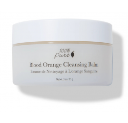BLOOD ORANGE cleansing balm: 100% Pure