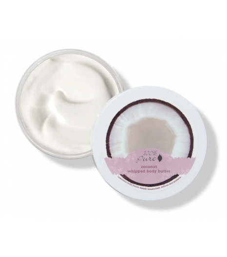 COCONUT whipped body butter: 100% Pure