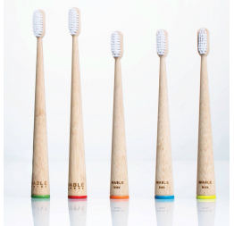 """ADULT"" bamboo toothbrush: Mable"