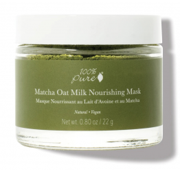 MATCHA OAT MILK nourishing mask: 100% Pure