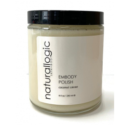 """EMBODY SCRUB"" gommage corps au coco et cacao: Naturallogic"