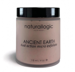 """""""ANCIENT EARTH"""" micro gommage: Naturallogic"""