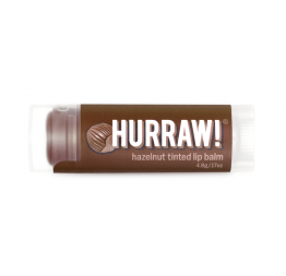 """HAZELNUT"" tinted lip balm: Hurraw Balm"