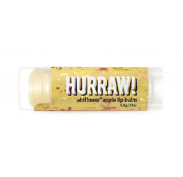 """AHIFLOWER APPLE"" lip balm: Hurraw Balm"