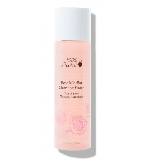 ROSE MICELLAR cleansing water: 100% PURE