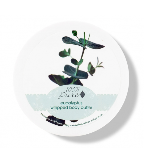 """EUCALYPTUS"" whipped body butter: 100% Pure"