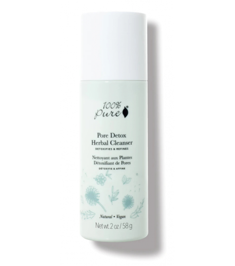 """PORE DETOX"" herbal cleanser: 100% Pure"
