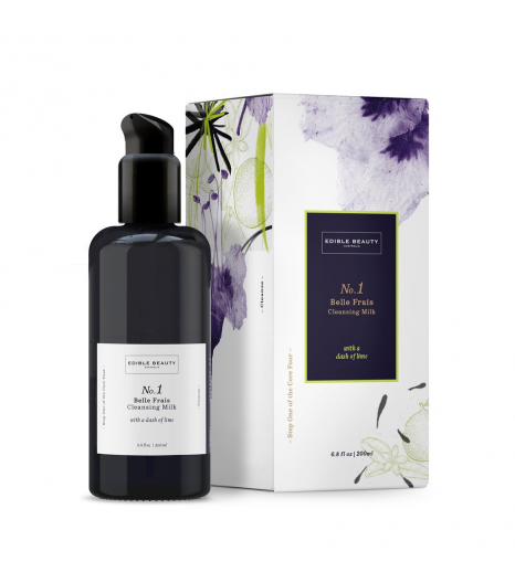 """BELLE FRAIS"" cleansing milk: Edible Beauty Australia"