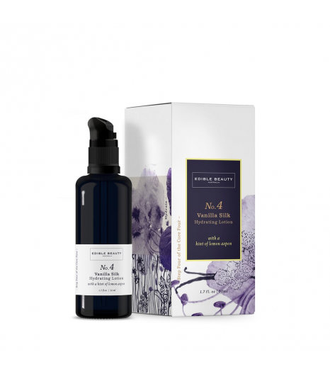 « VANILLA SILK » hydrating lotion: Edible Beauty Australia
