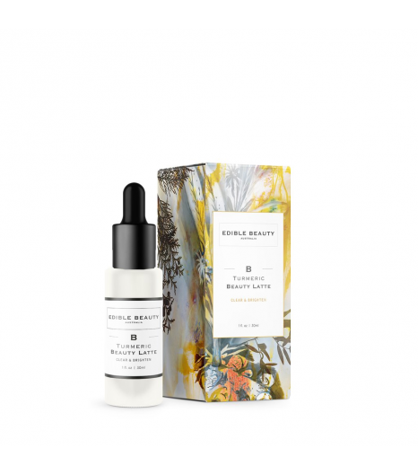 """TURMERIC BEAUTY LATTE"" pre-serum clear and brighten: Edible Beauty Australia"