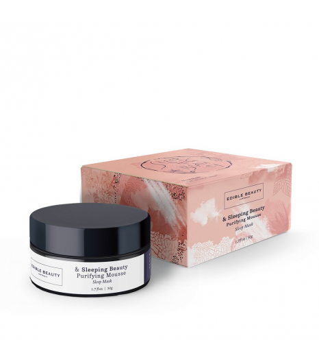 """PURIFYING MOUSSE"" night purifying mask: Edible Beauty Australia"