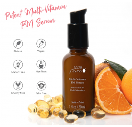 """NIGHT SERUM"" multi-vitamin + antioxidants: 100% Pure"