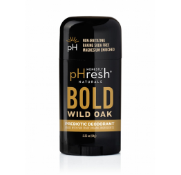 """BOLD WILD OAK"" richly woodsy with warm spicy notes of cedarwood and balsam deodorant for men: Honestly pHresh"
