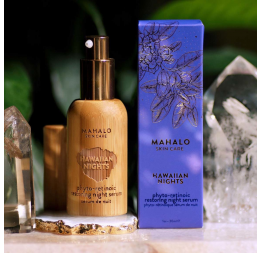 """The HAWAIIAN NIGHTS"" restoring night serum: Mahalo"