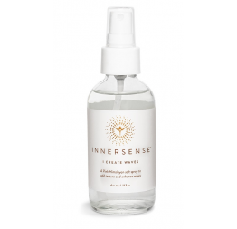 "Salt spray to add texture and enhance waves ""I CREATE WAVES"": Innersense"