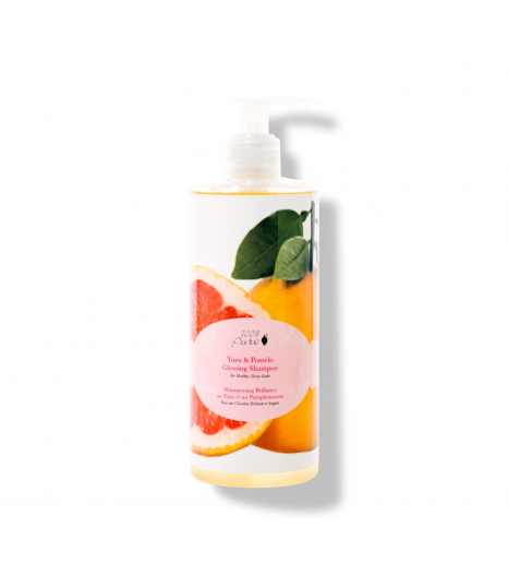 """YUZU & POMELO"" hydrating shampoo: 100% Pure (390 ML)"
