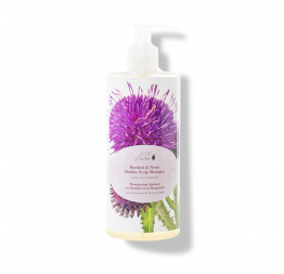 BURDOCK & NEEM healthy scalp shampoo: 100% Pure (390 ML)