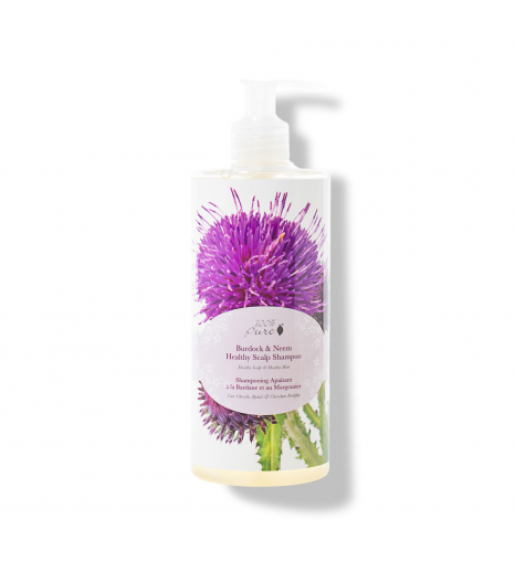 BURDOCK & NEEM shampoing purifiant: 100% Pure (390 ML)