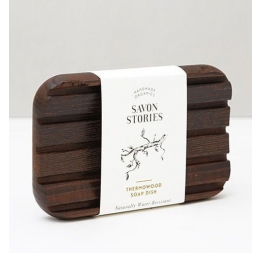 """THERMOWOOD SOAP DISH"" water-resistant, durable & sustainable: Savon Stories"