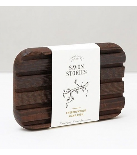 """""""THERMOWOOD SOAP DISH"""" water-resistant, durable & sustainable: Savon Stories"""