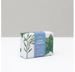 """SUMMER EDITION BAR SOAP"" with peppermint & tea tree: Savon Stories"