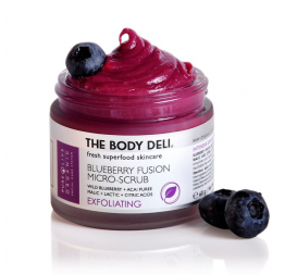 BLUEBERRY FUSION SCRUB (exfoliating): The Body Deli
