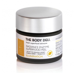 """RADIANCE ENZYME SUPERFOOD PEEL"" Gommage enzymatique aux superaliments (éclat): The Body Deli"