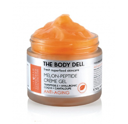 """MELON PEPTIDE"" crème gel anti-âge: The Body Deli"