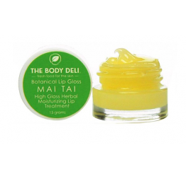 """MAI TAI"" lip gloss coco ananas: The Body Deli"